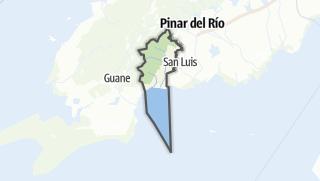 Mapa / San Juan y Martínez