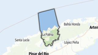 Mapa / La Palma