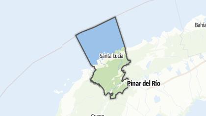 Mapa / Minas de Matahambre