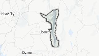 Hartă / Elgeyo/Marakwet