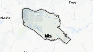 Hartă / Murang'a