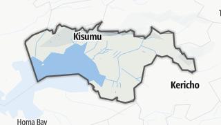 Hartă / Kisumu