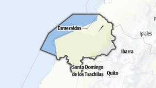 Mapa / Provincia de Esmeraldas
