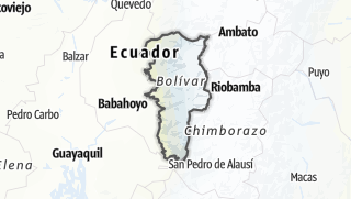 Mapa / Provincia de Bolívar
