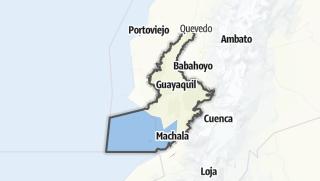 Mapa / Provincia del Guayas