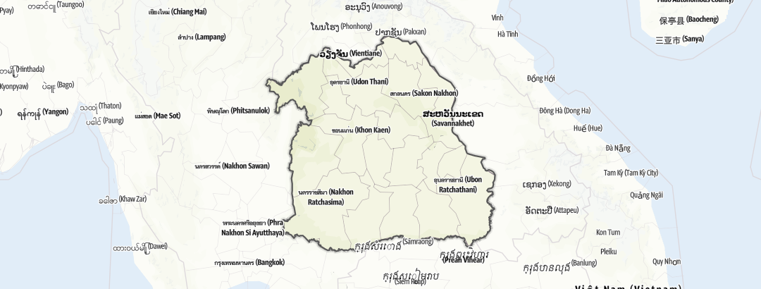 Mapa / North East