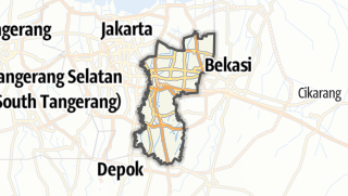 Карта / Kota Jakarta Timur