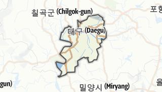 Hartă / 대구광역시