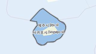 Hartă / 제주특별자치도