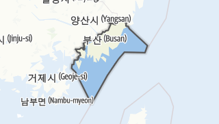 Hartă / 부산광역시