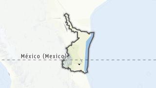 Kartta / Tamaulipas