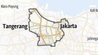 Карта / Kota Jakarta Barat