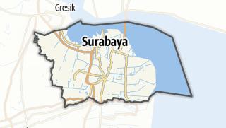 Kartta / Kota Surabaya