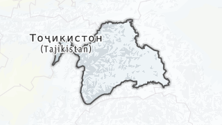 Hartă / Вилояти Мухтори Кӯҳистони Бадахшон