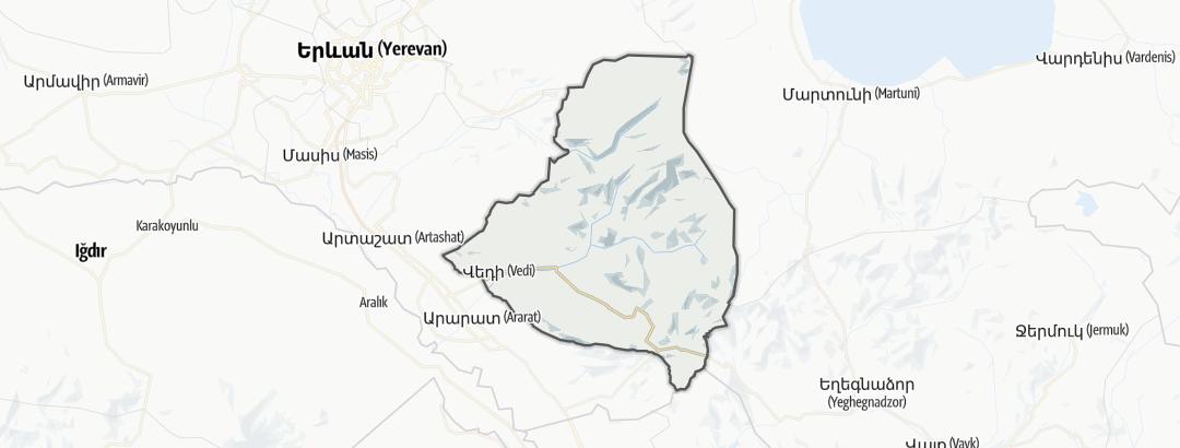 Map / Վեդի