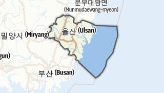 Hartă / 울산광역시
