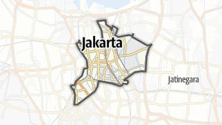 Карта / Kota Jakarta Pusat