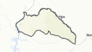 Hartă / Artigas