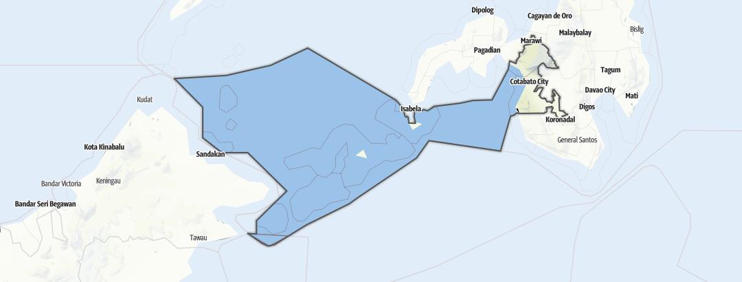 Карта / Muslim Mindanao