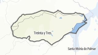 Hartă / Treinta y Tres