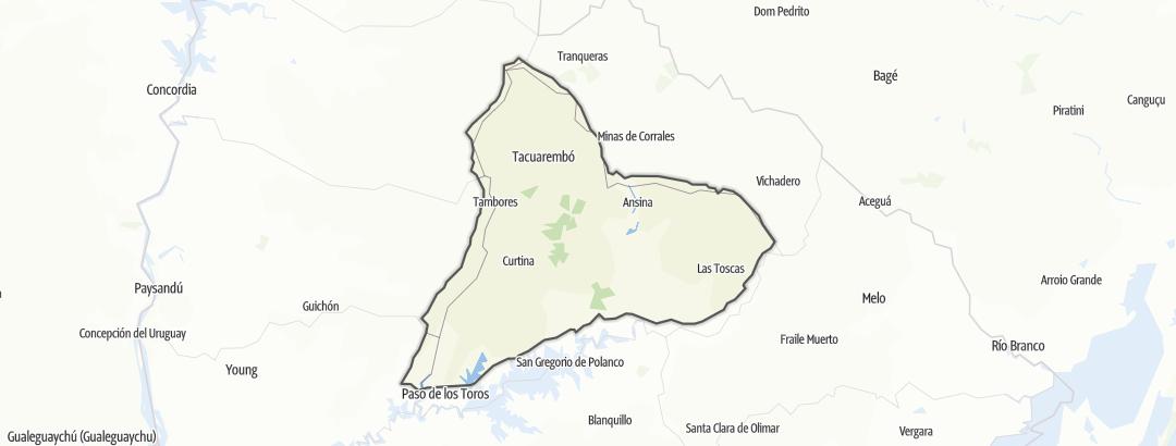 Kartta / Tacuarembó
