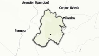 Kartta / Paraguarí