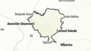 Kartta / Cordillera