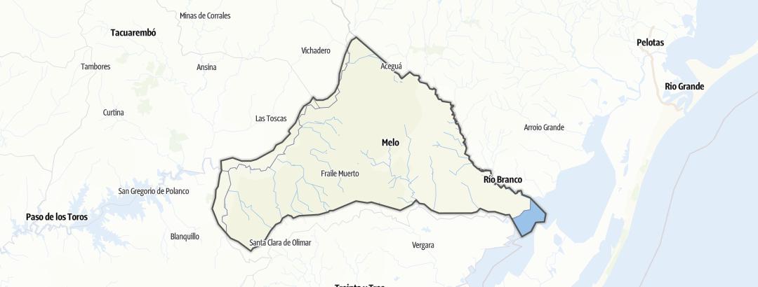 Kartta / Cerro Largo