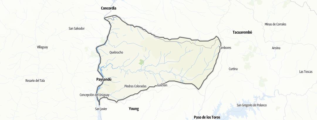 Kartta / Paysandú