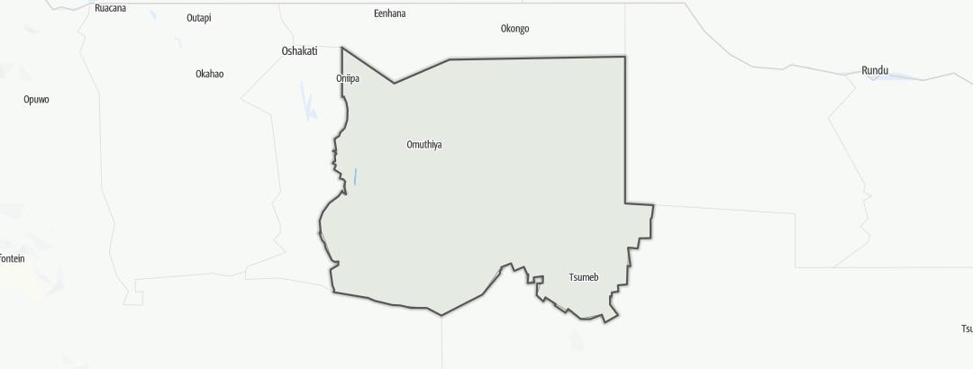 Mapa / Oshikoto