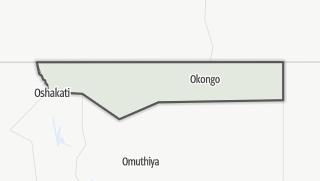 Kartta / Ohangwena