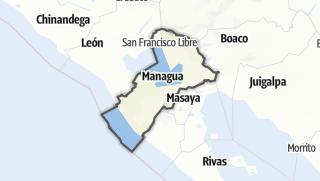 Kartta / Managua