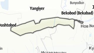 Térkép / Зафаробод