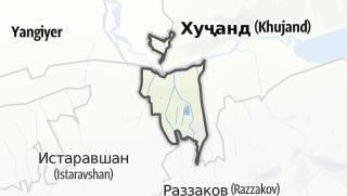 Térkép / Спитамен