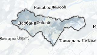 Térkép / Дарбанд