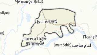 Térkép / Қумсангир