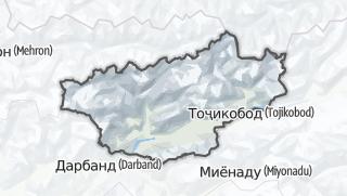 Térkép / Рашт
