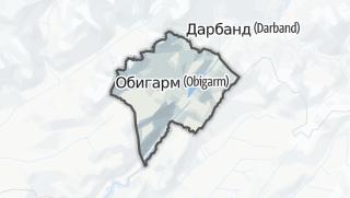 Térkép / Роғун