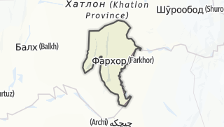 Térkép / Фархор
