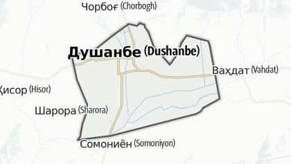 Mapa / Душанбе
