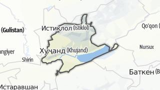 Térkép / Бобоҷон Ғафуров