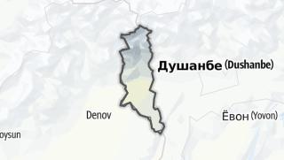 Térkép / Турсунзода