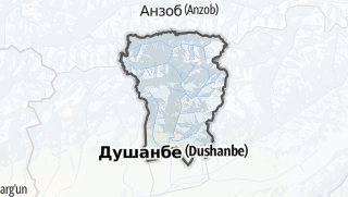 Térkép / Варзоб