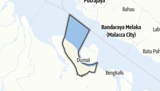 Mapa / Kota Dumai