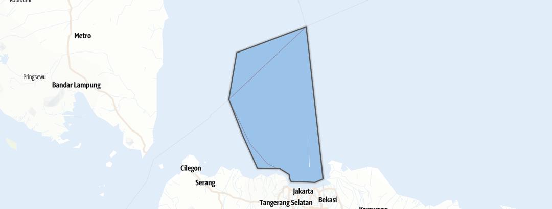 Mapa / Kepulauan Seribu