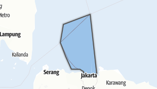 Карта / Kepulauan Seribu