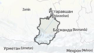 Térkép / Шаҳристон
