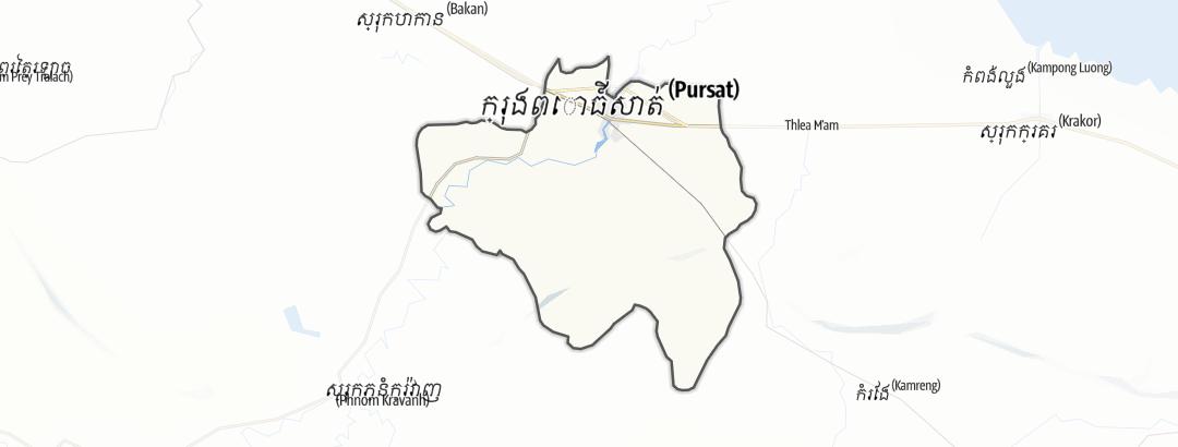 Karte / Pursat