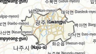 Hartă / 광주광역시