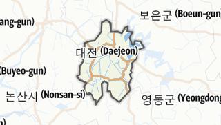 Hartă / 대전광역시